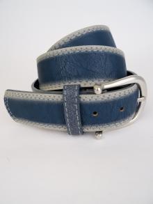 Gürtel blau im Vintage-Look