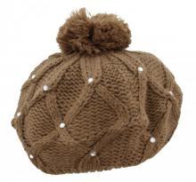Modische Mütze Braun