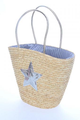 """Beach Bag """"Star"""" Blau"""