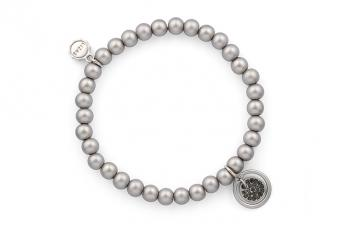 Armband Lizas Silber-Grau