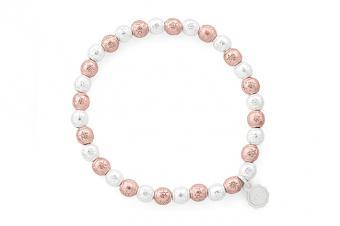 Armband Lizas Silber/Rose