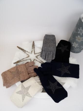 Eleganter Damenhandschuh incl. Stulpen
