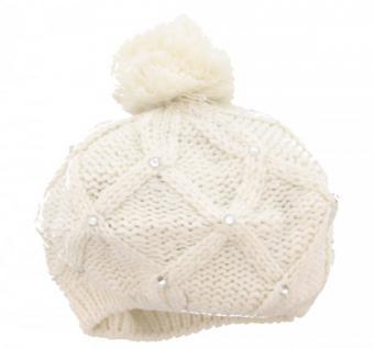 Modische Mütze Weiß